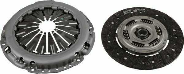 zestaw sprzęgła Ford 1.0 EcoBoost 6-biegów - Sachs