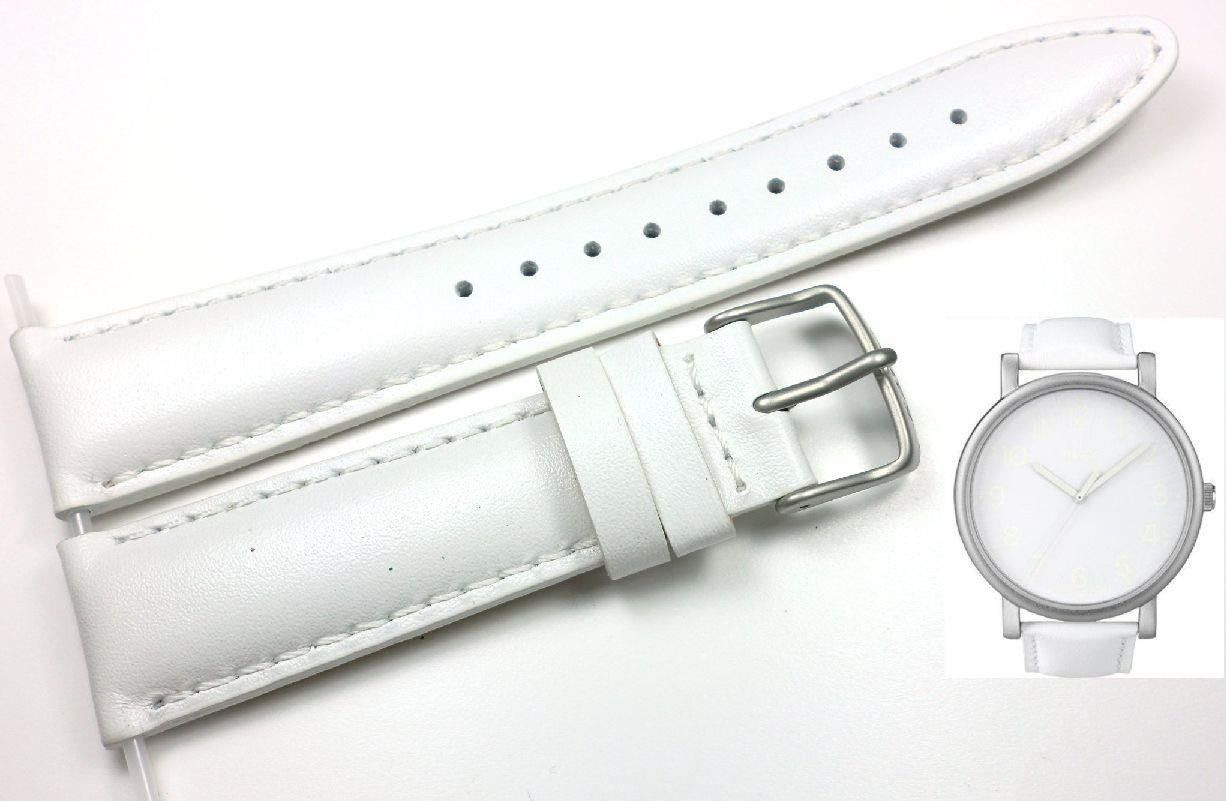 Pasek do zegarka Timex T2N345 P2N345 20 mm Skóra