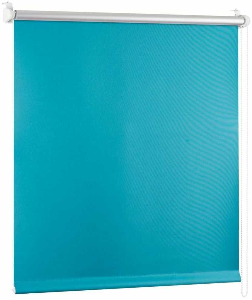 Roleta zaciemniająca BLACKOUT 48 x 150 cm zielona termoizolacyjna