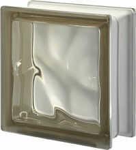 Pustak szklany Q 19 Siena O luksfer 19x19x8 cm