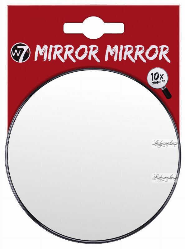 W7 - MIRROR MIRROR - 10 x Magnify - Powiększające lusterko z przyssawkami