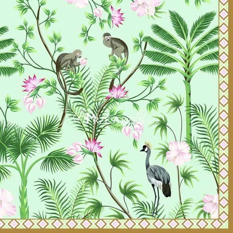 SERWETKI PAPIEROWE Wild Tropical