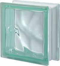 Pustak szklany Q 19 Verde O luksfer 19x19x8 cm