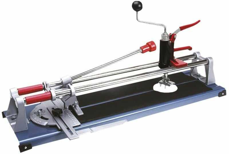 Maszynka do płytek ceramicznych 430 mm fi 19 mm, nóż 16 x 6 x 3 mm wycinacz otworów 16B243