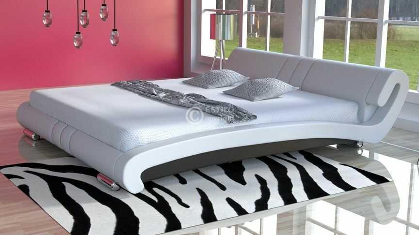 Łóżko sypialniane Vanessa Slim Led RgB multikolor