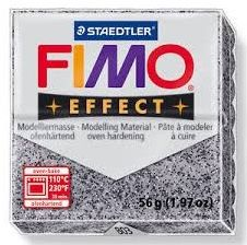 Masa plastyczna FIMO Effect 57g 812294 810320, Kolor masy: Grafitowa