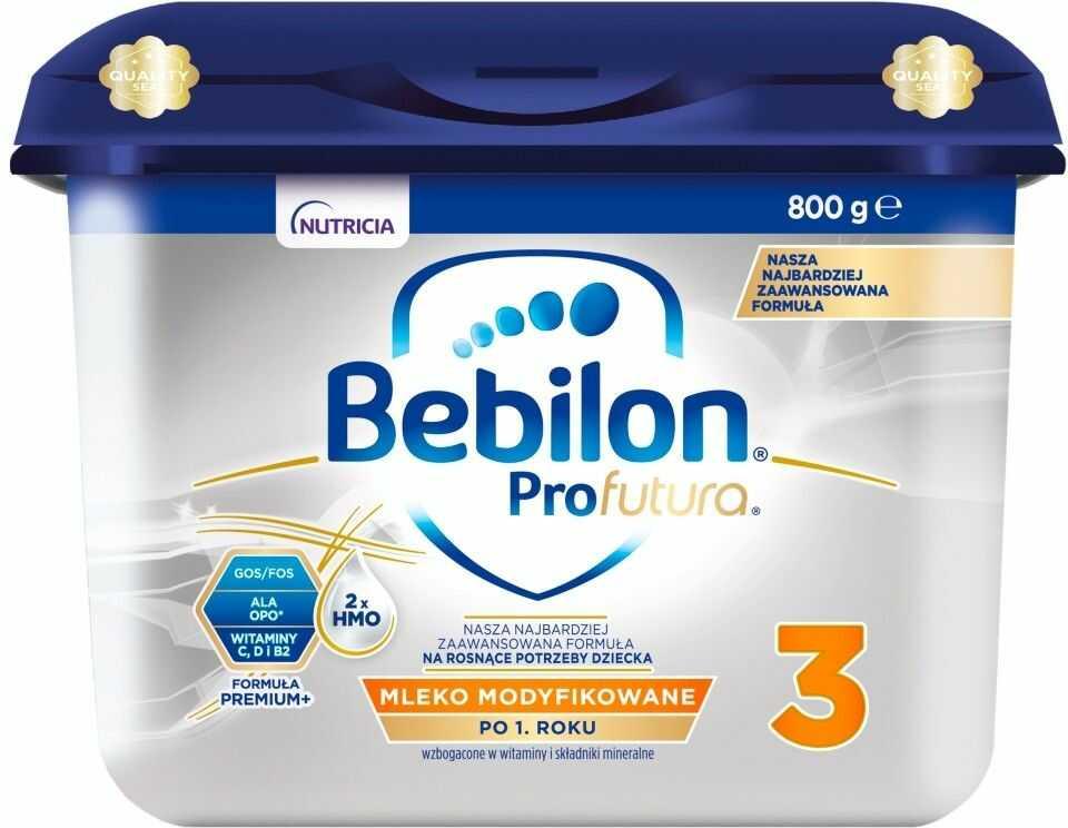 Bebilon Profutura Junior 3 mleko modyfikowane powyżej 1 roku życia proszek 800 g