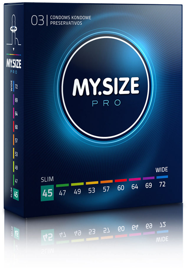 MY.SIZE Pro 45 3 pack