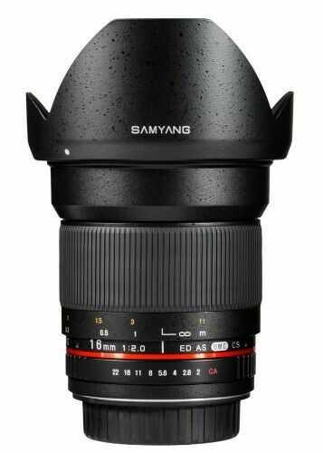 Samyang 16mm F2.0 Canon M