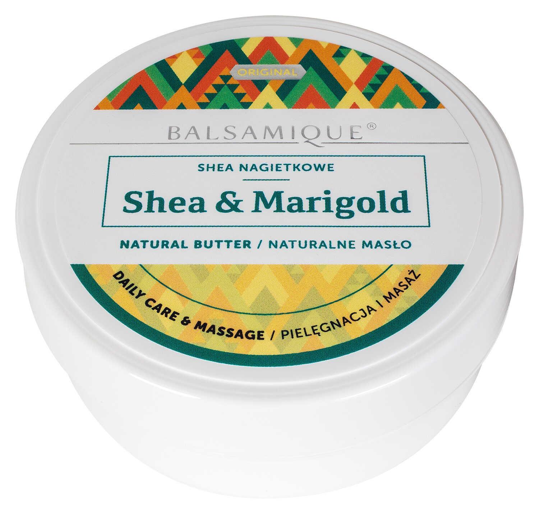 Naturalne masło nagietkowe - Shea & Marigold - Balsamique
