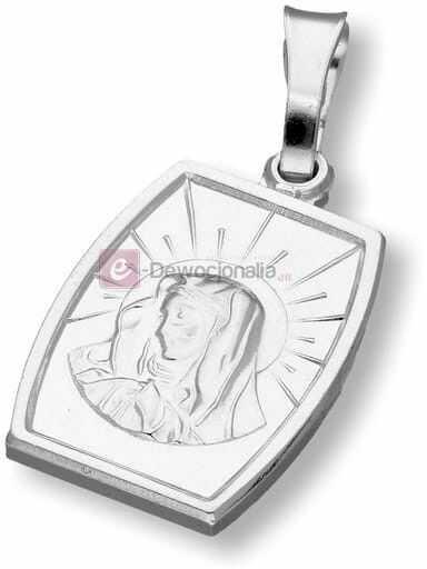 Medalik srebrny - Matka Boska 2,5g