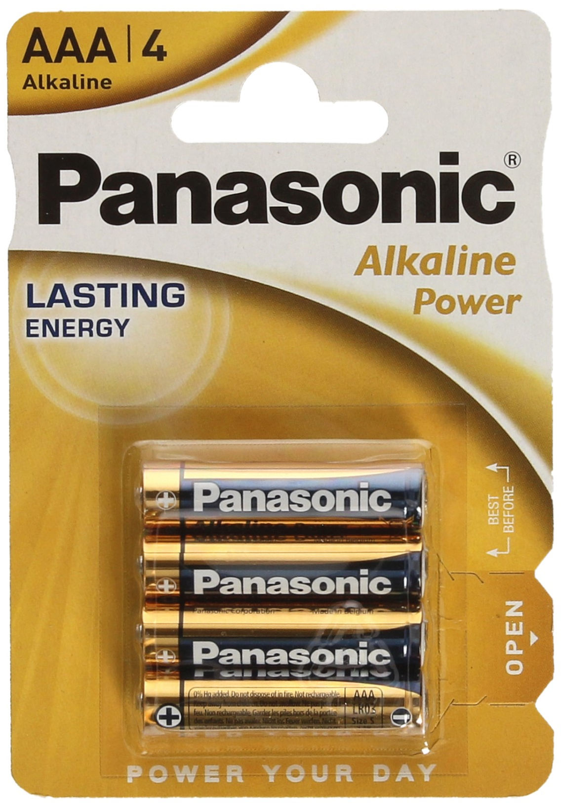 Bateria alkaliczna LR03 AAA Panasonic