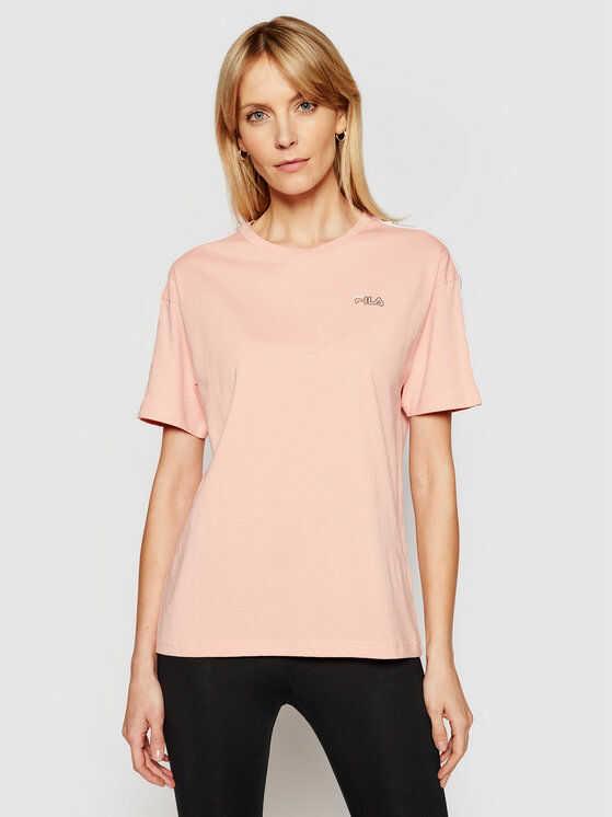 Fila T-Shirt Jakena 683395 Pomarańczowy Regular Fit