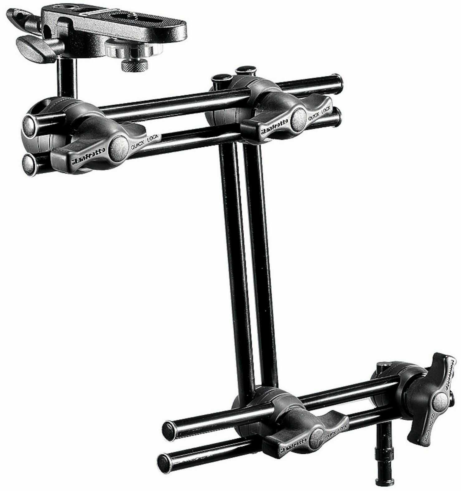 Manfrotto 396B-3 - Mini arm / ramię podwójne 3-sekcyjne + Manfrotto 143BKT Manfrotto 396B-3 - Mini arm / ramię podwójne 3-sekcyjne + Manfrotto 143BKT