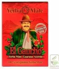 Yerba Mate El Gaucho Energia z guaraną opakowanie 500g