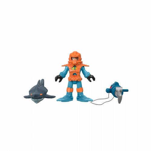 Mattel Figurka Imaginext Nurek rafowy z rekinem