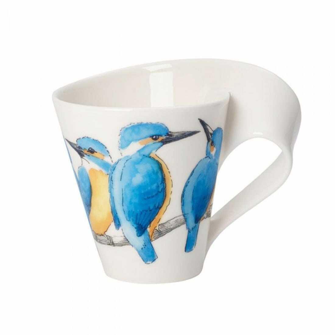 Villeroy&Boch - Kubek do kawy NewWave Caffe Zimorodek 300 ml