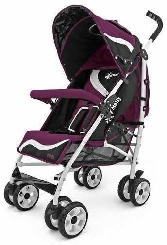 Milly Mally Wózek Rider New Purple