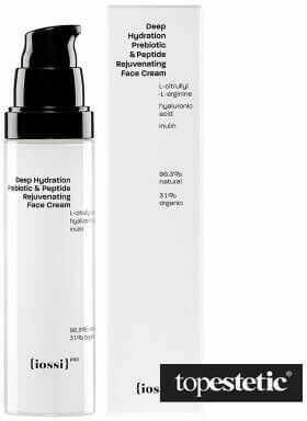 Iossi Deep Hydration Prebiotic and Peptide Face Cream Nawilżający krem do twarzy z naturalnym