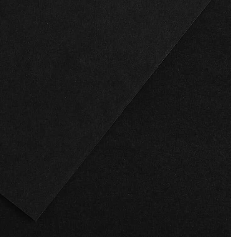 Karton kolor 50x65 czarny Colorline142 Canson