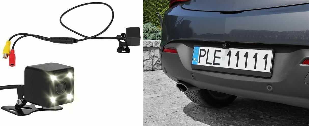 Kamera Cofania/Parkowania Dzienno-Nocna (12V).