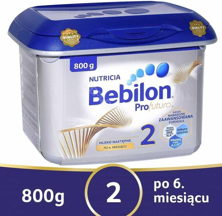 Bebilon Profutura 2 specjalistyczne modyfikowane mleko następne proszek 800 g