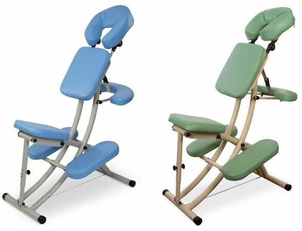 Przenośne krzesło do masażu OFFICE-REH Aluminium