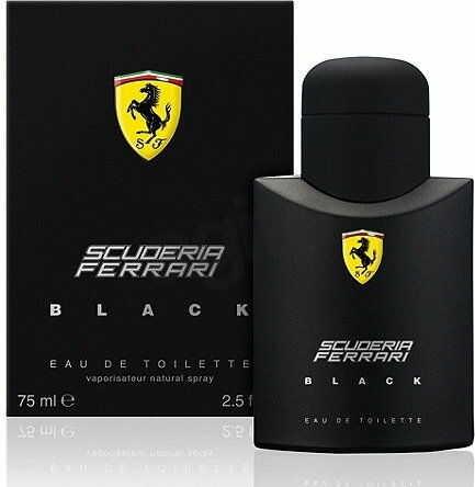 Ferrari Scuderia Ferrari Black 75 ml woda toaletowa dla mężczyzn woda toaletowa + do każdego zamówienia upominek.