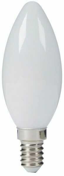 Żarówka Tradycyjna świeczka B35 230V E14 15W matowa 16143756