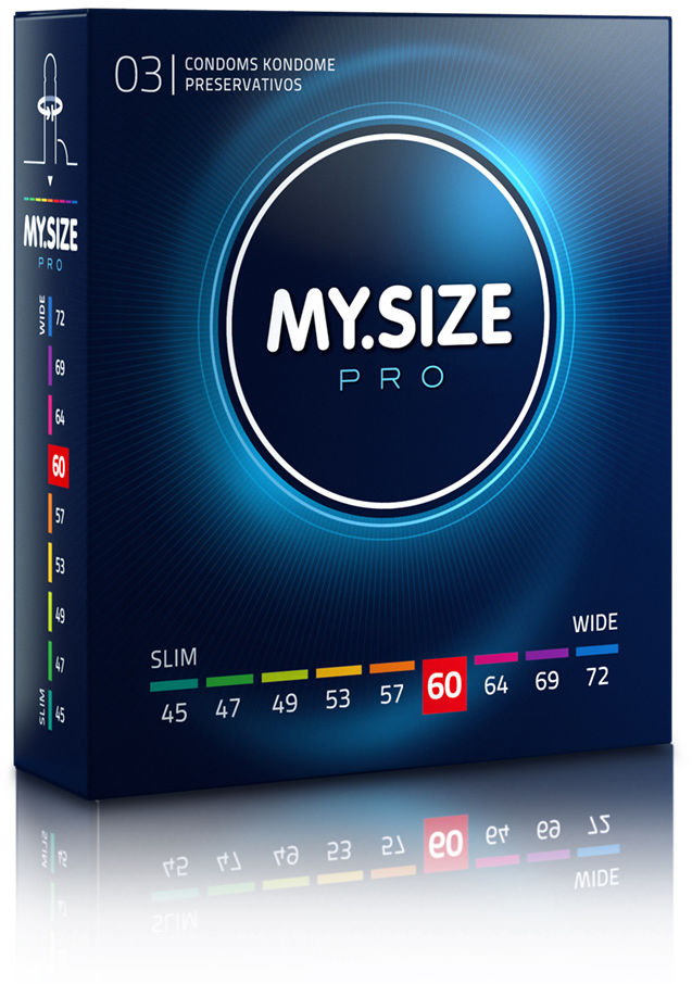 MY.SIZE Pro 60 3 pack