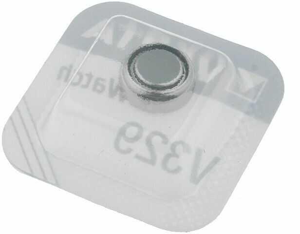 Bateria srebrowa 1,55V VARTA V329,pastylkowa 1szt. fi7,9x3,1mm