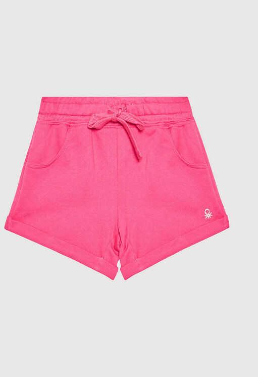 Szorty sportowe 3J68I0973 D Różowy Regular Fit