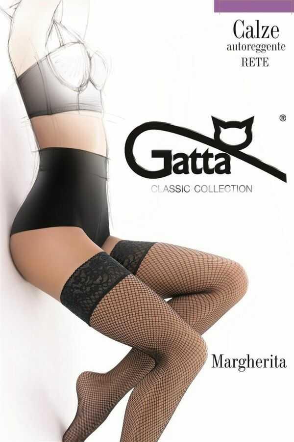 MARGHERITA 01 - Pończochy kabaretki