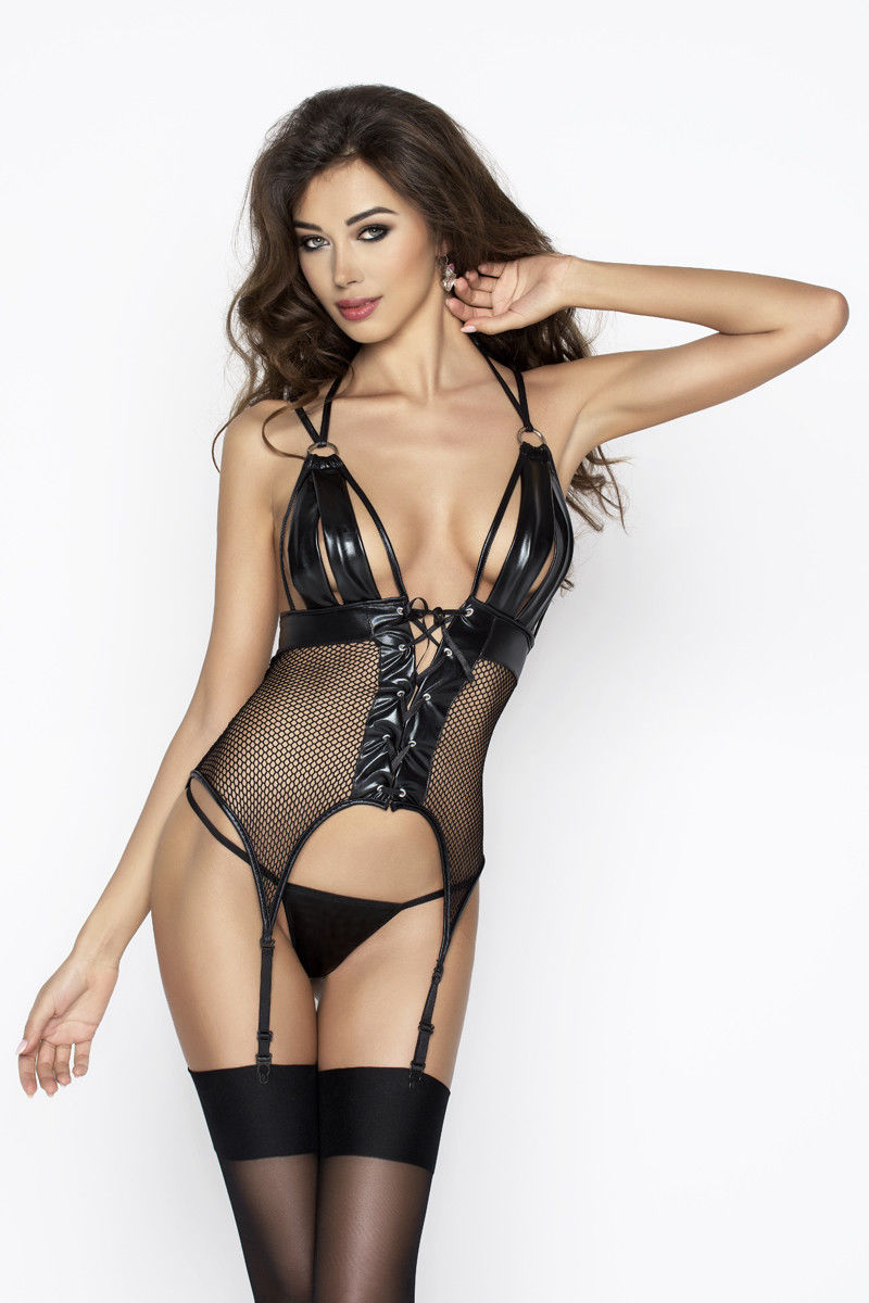 Passion Katriss Corset Black