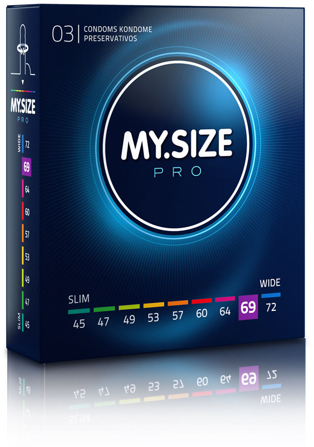 MY.SIZE Pro 69 3 pack
