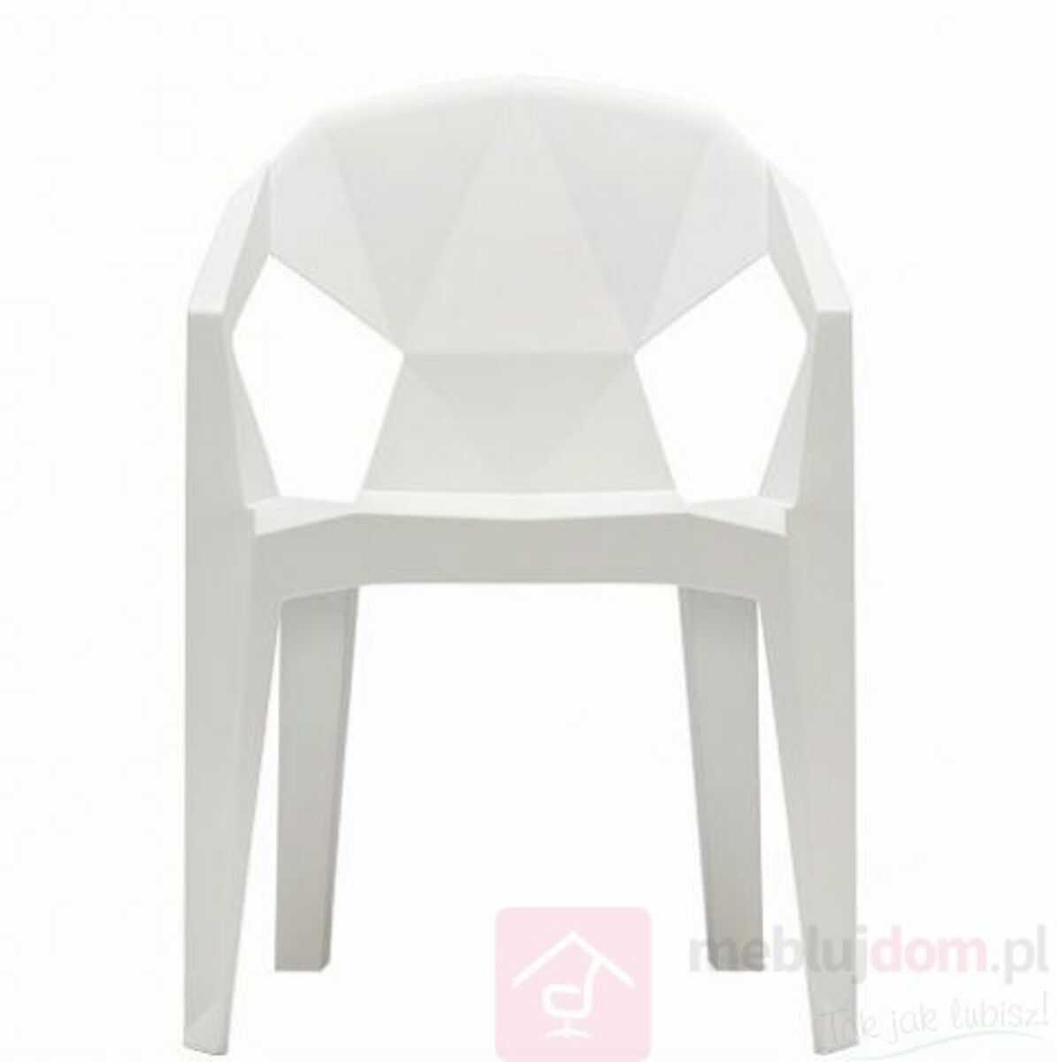 Krzesło MUZE Biały  Zapytaj o RABAT!