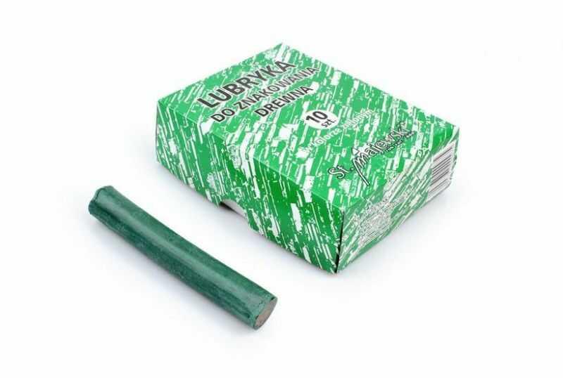 Lubryka do znakowania drewna Majewski 5000959 5000935, Kolor: Zielona