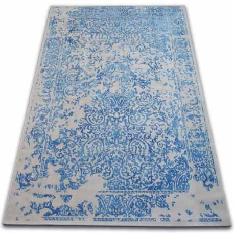 Dywan Vintage 22208/053 niebieski / szary rozeta klasyczny 160x230 cm
