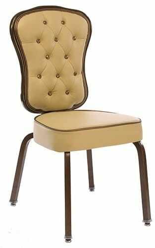 Ekskluzywne krzesło bankietowe Lush