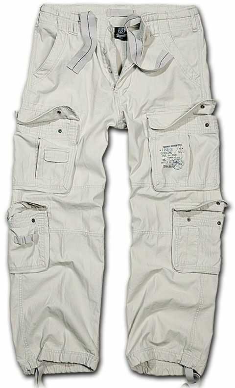 Spodnie wojskowe Brandit Pure Vintage Old White (1003-12)