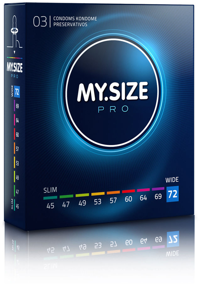 MY.SIZE Pro 72 3 pack