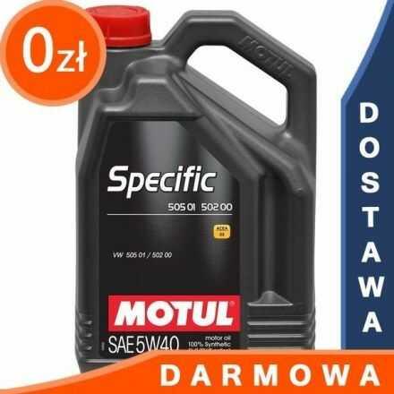 Motul Specific 505.01 - 502.00 5W40 5l DARMOWA DOSTAWA