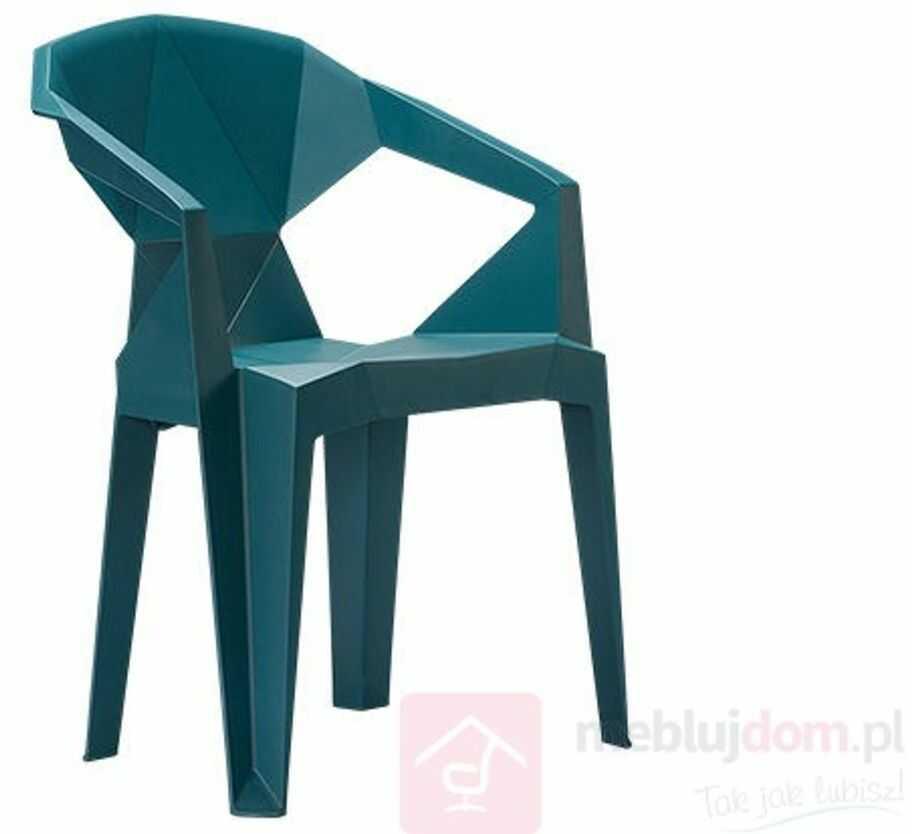 Krzesło MUZE Niebieski  Zapytaj o RABAT!   [Wysyłka 2021-03-02]