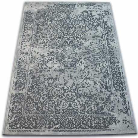 Dywan Vintage 22208/356 szary rozeta klasyczny 120x170 cm