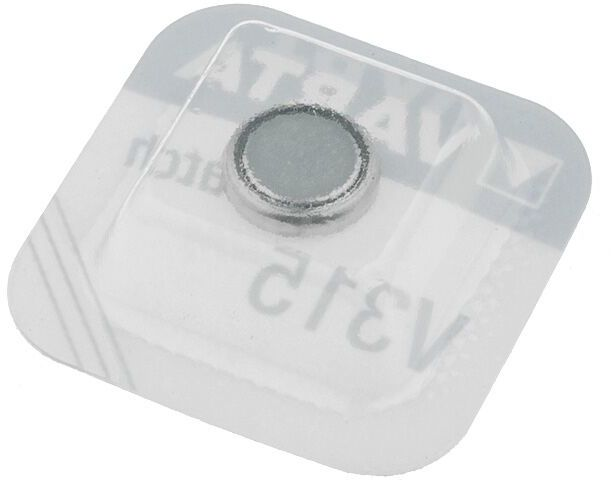 Bateria srebrowa 1,55V VARTA SR67,pastylkowa 1szt. fi7,9x1,5mm