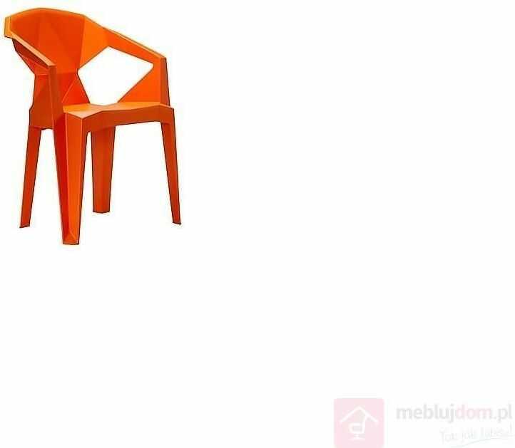 Krzesło MUZE Pomarańczowy  Zapytaj o RABAT!