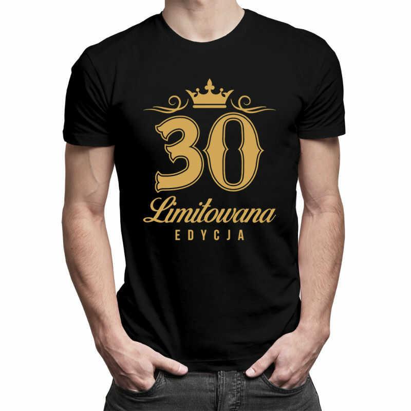 30 lat - limitowana edycja - męska koszulka z nadrukiem