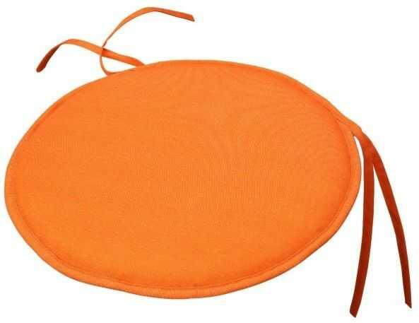 Poduszka okrągła Cocos pomarańczowa