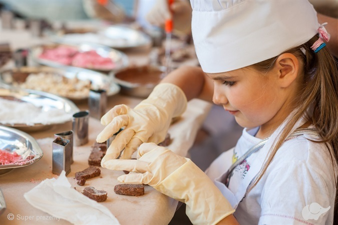 Warsztaty wyrobu czekolady dla dzieci