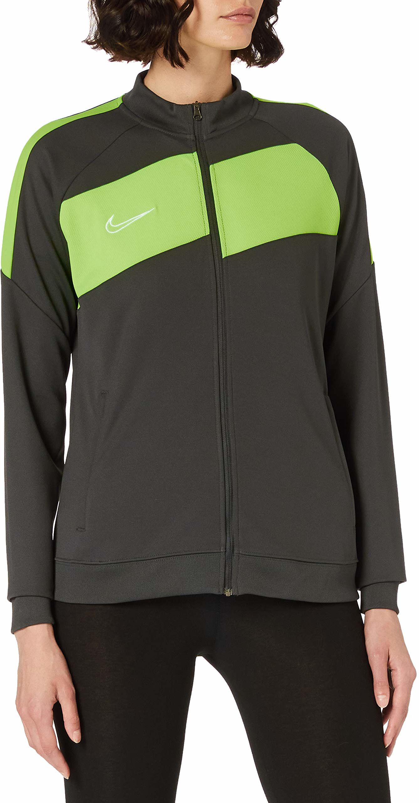 Nike Damska kurtka treningowa Academy Pro Knit Track grau - grün XL